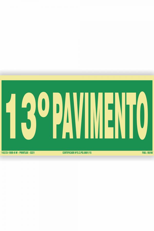 s221 – 13 pavimento