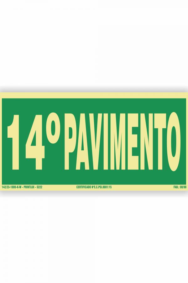 s222 – 14 pavimento